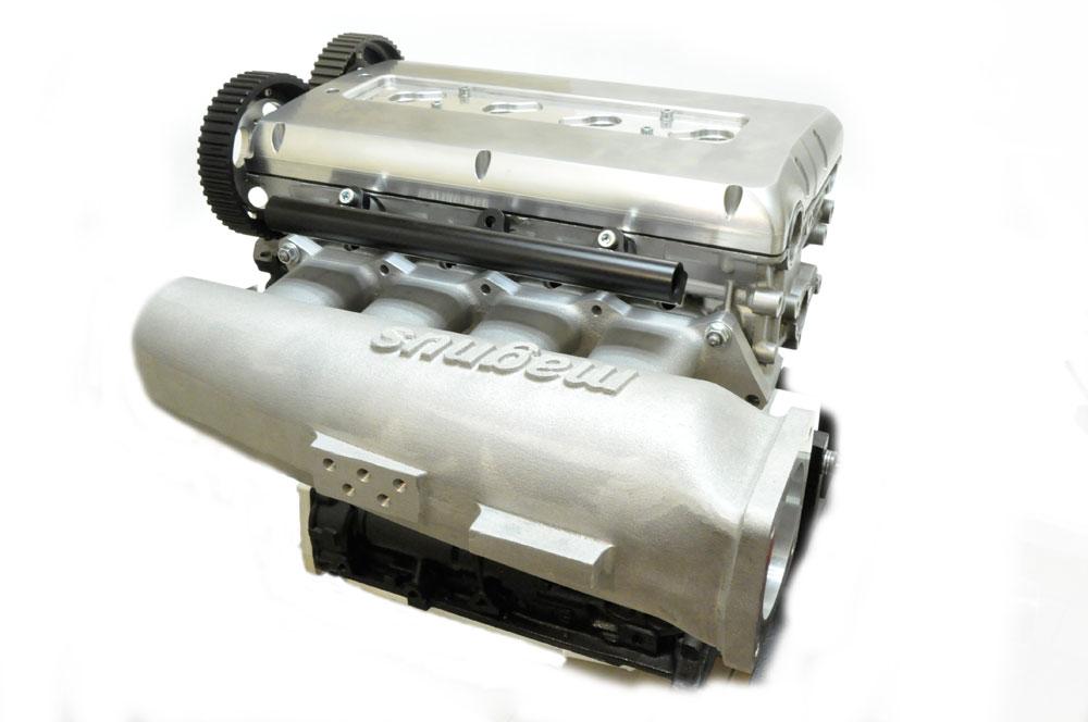 Magnus V4 Cast Aluminum Intake Manifold for Evo 1-3 & 2G DSM